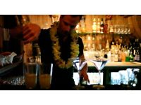 Part Time bar tender needed for tiki bar in Clapham Junction.
