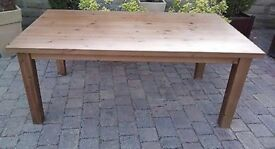 IKEA Solid Pine Wooden dining Table