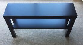 IKEA LACK TV bench in black 90x26cm