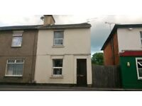 2 Bed House with garden+free off road parking space. Westcott Place.