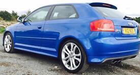 Audi S3 2.0l tfsi Quattro. DSG. FASH. Low miles. New MOT.