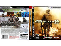 must go BY TODAY call of duty mordern warfare 2 for ps3 excellent condition
