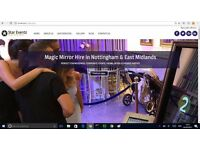 Graduate Web Designer Building Portfolio - Discounted bespoke websites