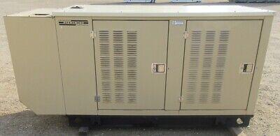 35 Kw Generac 4.3l Gm Natural Gas Or Propane Generator Genset - 309 Hours
