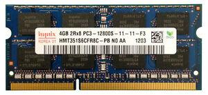 Hynix HMT351S6CFR8C-PB (4GB, PC3-12800 (DDR3-1600), DDR3 SDRAM, 1600 Mhz, SO DIM