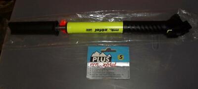 Zefal Plus Frame Pump Neon Green or Neon Yellow NOS Mountain Bike Large Mt