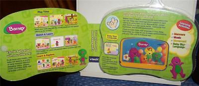 VTech V.Smile Baby Barney Let's Go To a Party! 9-36 months Baby Sign Language