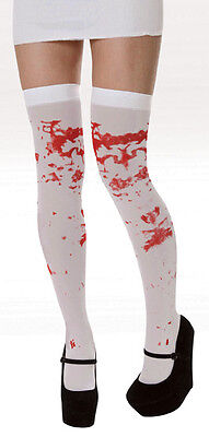 r Knee Hold Ups , Stockings Halloween Fancy Dress One Size (Ups, Kostüm Halloween)