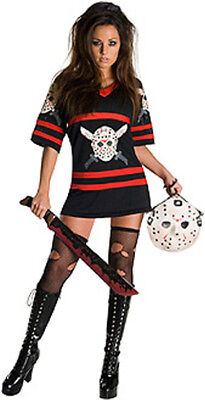 SECRET WISHES OFFICIAL MISS JASON VOORHEES SIZE - Halloween Costumes 3 Wishes