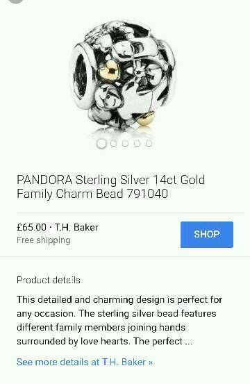 Brand new pandora charms