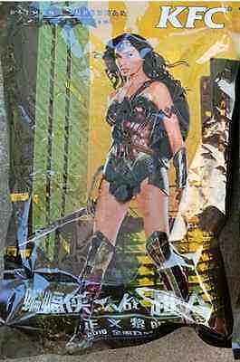 2016 Batman Vs Superman KFC Happy Meal Toy  Wonder Woman
