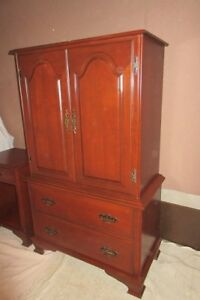 Armoire and Night Table