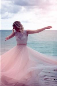 BHLDN Wedding dress (two piece)