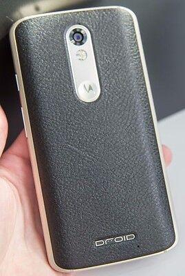 Motorola Droid Turbo 2 - 32GB - Black Leather - Verizon - GSM Unlocked