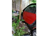 Smart car fortwo for spare or repair very low mileage good engine and gearbox 2005