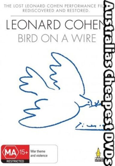 Bird On A Wire - Leonard Cohen  DVD NEW, FREE POSTAGE WITHIN AUSTRALIA REG ALL