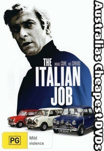 The Italian Job DVD NEW, FREE POSTAGE WITHIN  AUSTRALIA  REGION 4