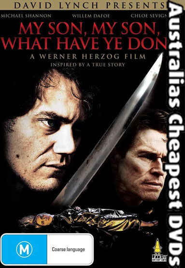 My Son, My Son, What Have Ye Done DVD NEW, FREE POSTAGE WITHIN AUSTRALIA REG ALL