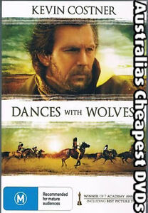 Dances With Wolves DVD NEW, FREE POSTAGE WITHIN AUSTRALIA REGION ALL