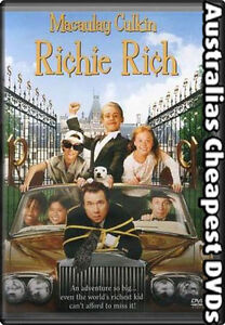 Richie Rich DVD NEW, FREE POSTAGE IN AUSTRALIA ALL REGIONS