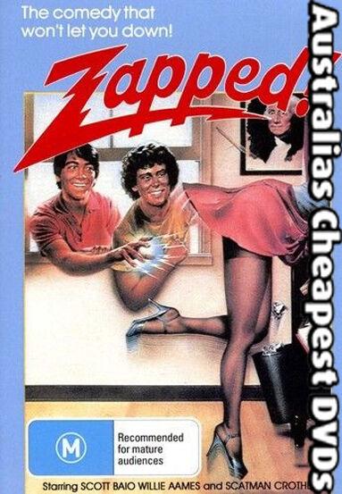 Zapped DVD NEW, FREE POSTAGE WITHIN AUSTRALIA REGION 4