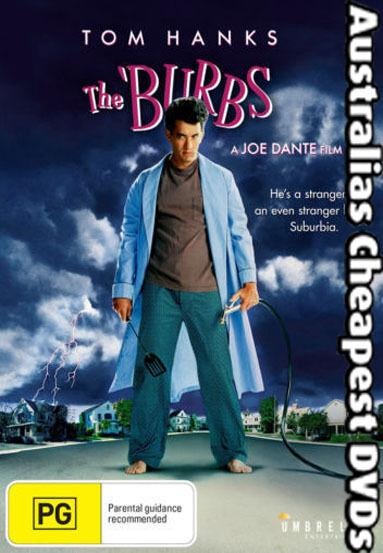 The 'Burbs DVD NEW, FREE POSTAGE WITHIN AUSTRALIA REGION 4