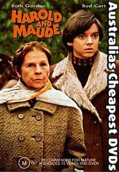 Harold and Maude DVD NEW, FREE POSTAGE WITHIN AUSTRALIA REGION 4