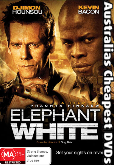 Elephant White DVD NEW, FREE POSTAGE WITHIN AUSTRALIA REGION 4