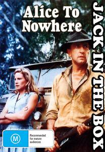 Alice To Nowhere DVD NEW, FREE POSTAGE WITHIN AUSTRALIA REGION ALL