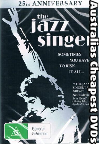 The Jazz Singer  DVD NEW, FREE POSTAGE WITHIN AUSTRALIA REGION 4