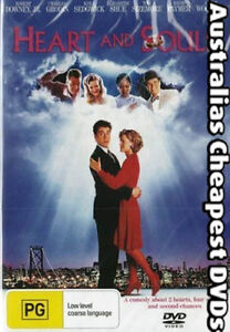 Heart and Souls DVD NEW, FREE POSTAGE WITHIN AUSTRALIA REGION 2, 4, 5