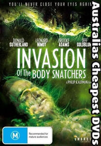 Invasion Of The Body Snatchers DVD NEW, FREE POSTAGE WITHIN AUSTRALIA REGION 4