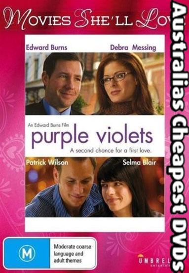 Purple Violets DVD NEW, FREE POSTAGE WITHIN AUSTRALIA REGION ALL