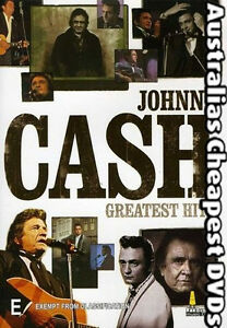 Johnny Cash Greatest Hits DVD NEW, FREE POSTAGE WITHIN AUSTRALIA REGION ALL