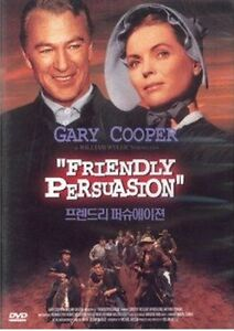 Friendly Persuasion (1956) DVD (Sealed) ~ Gary Cooper