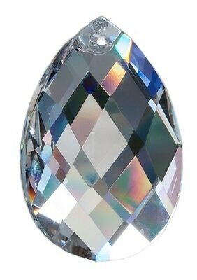 """Kristall Glas Raute Pendel Prisma 50mm für Feng Shui """"Regenbogenkristalle"""""""