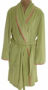 Pretty Green Fleece Bathrobe - Size Large - NEW