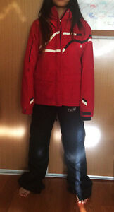 Medium Snowboard Jacket & Small Snowboard Pants