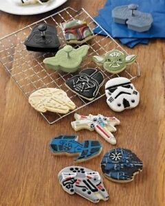 Williams Sonoma Star Wars Cookie Cutters