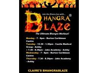 ✨✨ Claire's BhangraBlaze Fitness Classes Ashby & Burton ✨✨