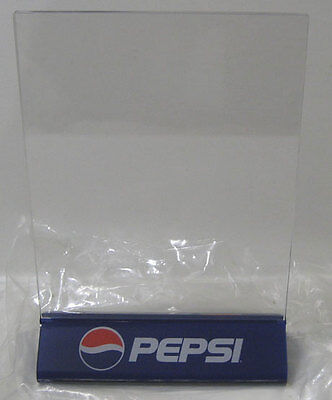 Pepsi ® Desk Stand Frame Document Poster Advertising Notice In Package