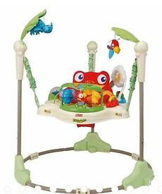 Baby's animal jungle jumperoo