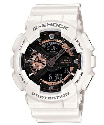 Casio G Shock *GA110RG-7A Anadigi Rose Gold White XL Watch Gshock COD PayPal