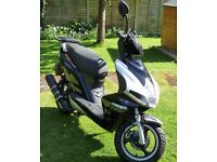 DIRECT BIKES DB125T-32A SCORPION SCOOTER - 125cc single cylinder 4 stroke engine.