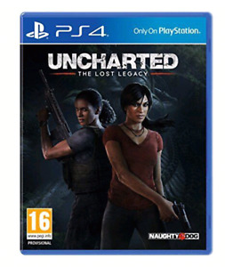 PlayStation 4 PS4 uncharted lost legacy $40 firm