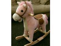 strawberry shortcake rocking horse age 1 to 3 years