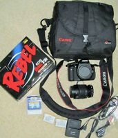 ** CANON ** EOS  ** Rebel T3i ** with 18-55 IS Kit & Accessories