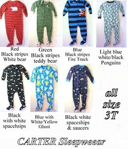 Baby Sleepers, pj, 3T, 7 1-pc, soft, warm, CARTER $5 ea
