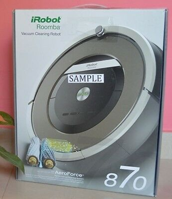iRobot Roomba 870 Vacuum Cleaning Robot with Accessories in the Original Box