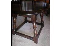 Dark Wood Coffee / Side Table